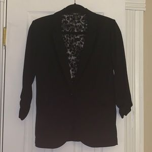 Black Style & Co stretchy blazer